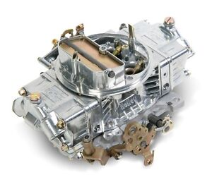 Holley 0 80573s 750cfm Factory Refurbished 4bbl Supercharger Carb