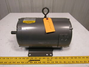 Baldor 1hp Dc Electric Motor 230vdc 182 Frame 1200 Rpm