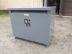 Acme Electric Power Transformer 30kva 480d 208 120 Type T 53312 3 Od 442