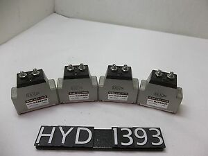 Smc Nass300 Slow Start Flow Control Valve Lot Of 4 hyd1393