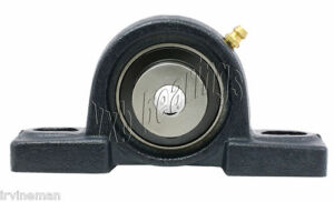 1 2 Bearing Hcp201 8 Pillow Block Cast Housing Mounted Bearing With Eccentric C