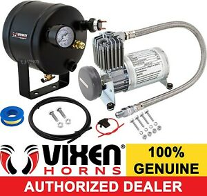 0 5 Gal Air Tank 150 Psi Compressor Onboard System Kit F Train Horn 12v Vxo8805