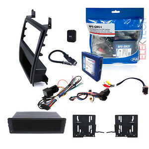 Radio Replacement Adapter Single Double Din Dash Kit W Pocket For Cadillac