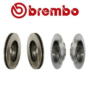 For Acura Tl 1999 2008 Complete Front Rear Disc Brake Rotor Kit Brembo