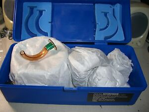 Md39 New O two Adult Resuscitator Kit W Bag Masks Airways Case Cpr 01bm2000m