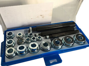 19pc Bushing Driver Set Auto Shop Tools Automotive Service Seal Bearing Install