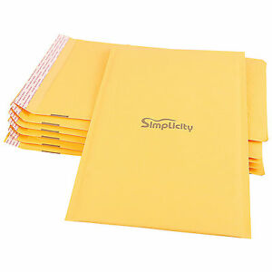 Kraft Bubble Envelopes Padded Mailers Shipping Self seal Bags