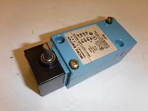 Micro Switch Lsp6b 600 Vac Max 10 Amps 600vac Heavy Duty Limit Switch Nnb