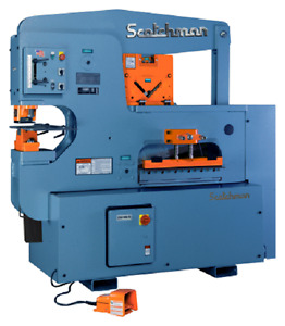 Scotchman 12012 24m 120 Ton Ironworker Made In Usa