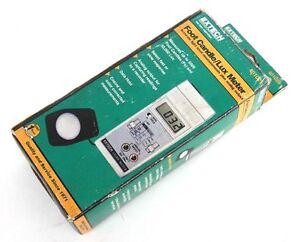 Nib Extech 401025 Foot Candle lux Meter 0 5000fc 0 50000lux