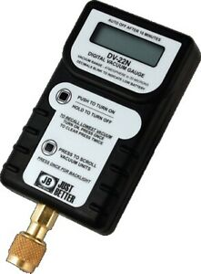 Jb Dv 22n Hand held Digital Vacuum Micron Gauge