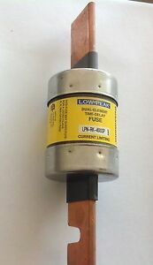 Bussman Low Peak 400 Amp 250 Volt Class Rk1 Catalog Lpn rk 400sp