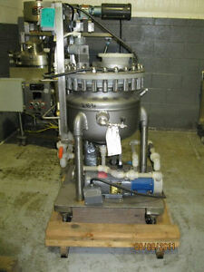5 Gal Pfaudler Glass Lined Reactor column