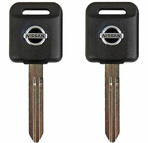 2 Ignition Key Blanks For Nissan Murano Rogue Juke Transponder Chip Key Id46