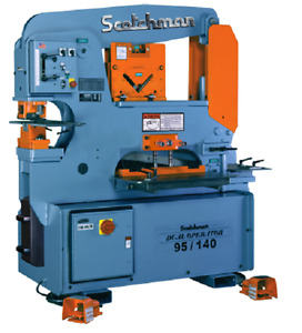 Scotchman 95 140 24m 95 Ton Ironworker Made In Usa