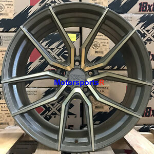 Xxr 559 Wheels 18 20 Bronze Rims Staggered 5x114 3 99 04 Ford Mustang Gt Cobra