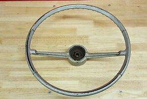 Vintage Oem 1966 66 Chevy Ii Nova Steering Wheel