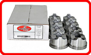 93 98 Jeep 318 5 2l Ohv V8 Flat top Pistons Std 020 030 040 060