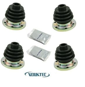 Cv Joint Rear Axle Boot Kit W Grease Vw Volkswagen Super Beetle Bug Irs 68 On