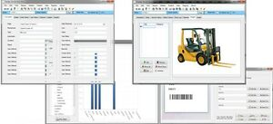 Heavy Equipment Construction Machinery Tracking Software Cd Customizable Fields