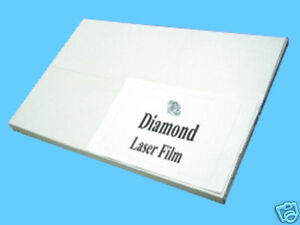Diamond Laser Polyester Film 8 5 X 14 For Screen Printing Plate Burning