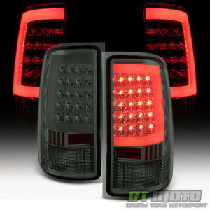 Smoked Lens 2007 2013 Gmc Sierra 1500 2500 Hd 3500 Hd Led Tube Tail Lights Lamps