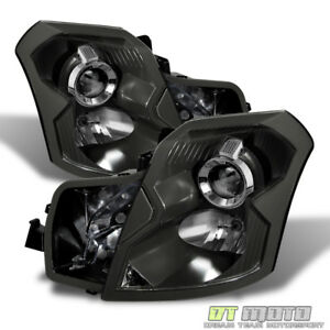 Black 2003 2007 Cadillac Cts Projector Headlights Replacement 03 07 Left right