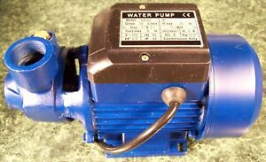 1 2 Hp Electric Centrifugal Water Pump Brand New All Metal Construction 110 Sump