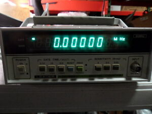 Leader Digital Frequency Counter 80mhz Ldc 822 Tested