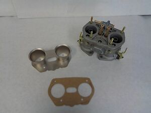 Weber Idf Carburetor Air Horn With Gasket 52850 004 Air Horn With Gasket