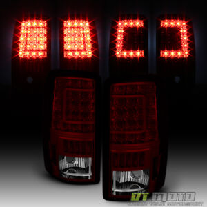 2000 2006 Suburban Tahoe Yukon C Shape Led Tail Lights Lamps Left Right 00 06