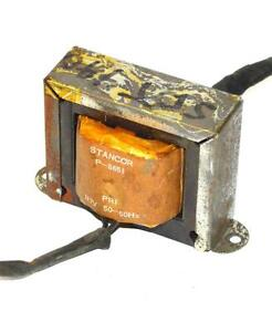 Stancor P 8651 Transformer 117 Volts Primary 6 3 Volts Secondary