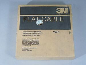 3m Flat Cable 100ft 3365 26 Pitch 050
