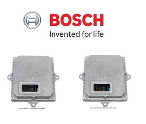 For Audi A3 Tt A8 Pair Set Of 2 Control Units For Xenon Headlights Ballast Bosch