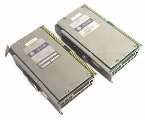 Lot Of 2 Allen Bradley 1772 lx D Mini plc 2 16 Processors Ser D Firmware Rev F