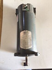 Boston Gear 90v Dc 1 2hp Motor Pm950at b 56c 1750 Rpm Tenv