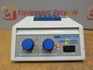 Vwr Scientific Dry Heatblock Bath Incubator Lab 20 Well Laboratory 949030
