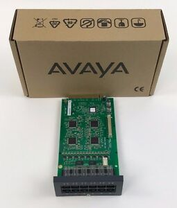 Avaya Phone 8 Ip500 Analog Base Card 700417231 New Lot