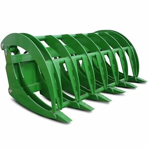 Titan Hd 72 Fits John Deere Tractor Clamshell Attachment Root Grapple Rake Rock