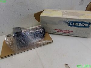 Leeson D c Gear Motor M1125073 00 Hp 1 8 Rpm 94 Ratio 19 To 1 New