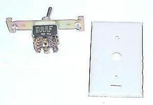 Honeywell S547b1004 4pdt Manual Changeover Switch 9885