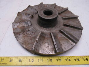9 3 4 Cast Iron Pump Impeller 1 1 8 7 Threaded Bore
