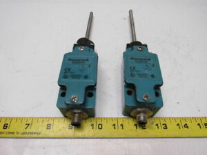 Honeywell Glab01e7b Limit Switch W Wobble Coil Actuator Lot 2