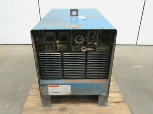 Miller Electric 451 Delta Weld Dc Arc Weld Power Source 200 230 460v 3ph Tested