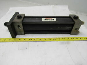 Schrader Bellows Pneumatic Air Cylinder 2 3 4 Bore 8 1 2 Stroke
