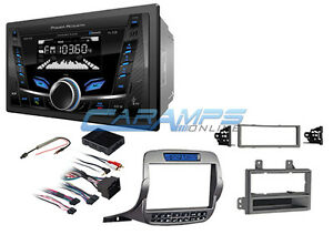 New Power Acoustik Bluetooth Aux Stereo Radio No Cd W Install Kit For Camaro