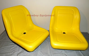 2 Yellow Seats For John Deere Gator Xuv 620i 850d 550 550 S4 Utv Utility Pair