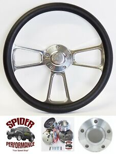 1965 1969 Fairlane Galaxie 500 Steering Wheel Ford 14 Polished Billet