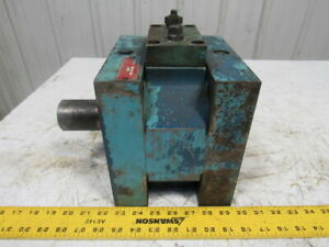Cadillac Gauge rotac Rn6 3iv Oil Hydraulic Rotary Actuator 2 Shaft 1000psi