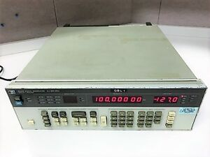 Agilent Hp Keysight 8656b Signal Generator W options 001 002 0 1 990 Mhz